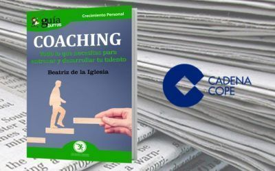 El «GuíaBurros: Coaching» en el portal web de COPE