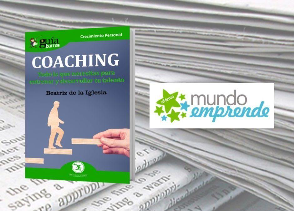 El «GuíaBurros: Coaching» en la web de Mundo Emprende